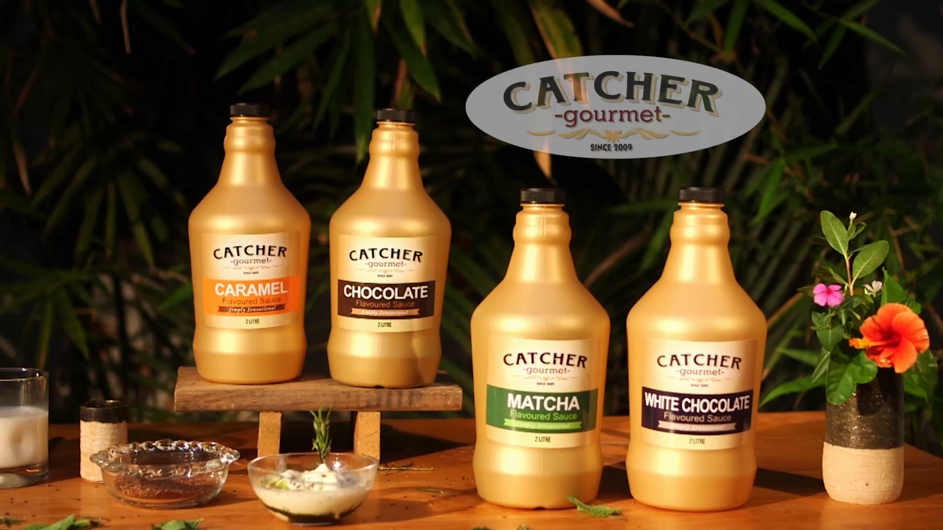 catcher gourmet sauces
