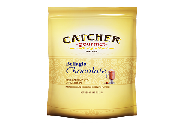 catcher gourmet bellagio chocolate premix