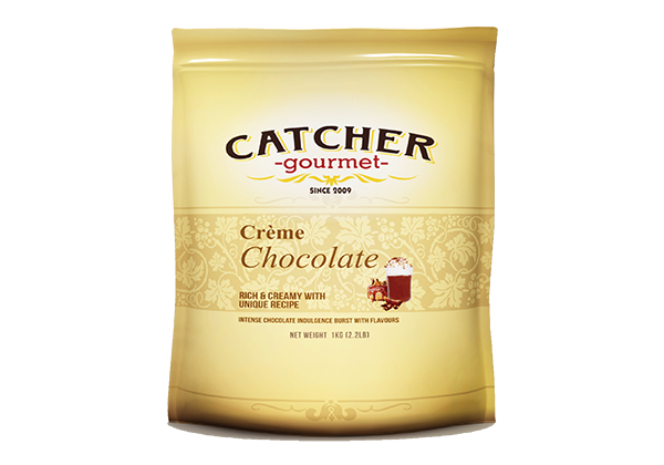 catcher gourmet creme chocolate frappe