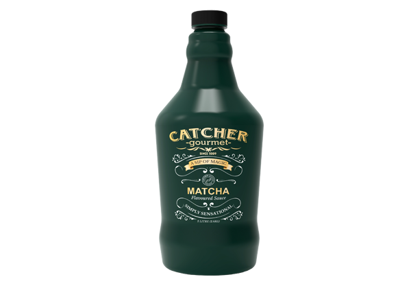 catcher gourmet matcha flavoured sauce