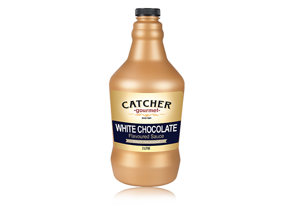 catcher gourmet white chocolate flavoured sauce