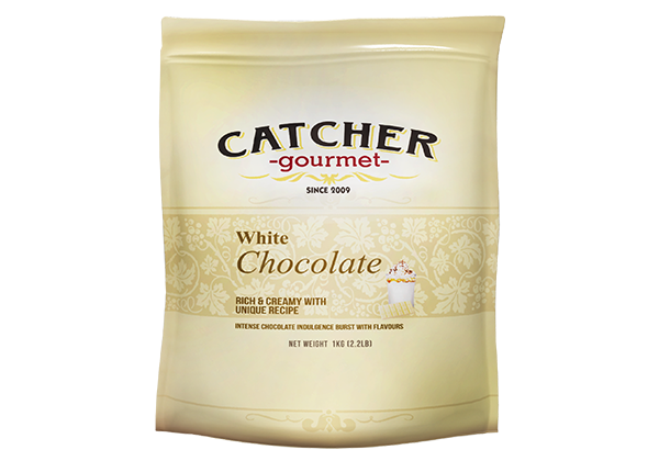 catcher gourmet white chocolate premix